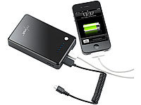 revolt Powerbank mit 8100 mAh für iPod, iPhone, Handy, Player
