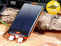 revolt Solar-Powerbank PB-100.s mit 10.000 mAh, Ladestand-Anz., 2x USB; USB-Powerbanks im Slim-Format USB-Powerbanks im Slim-Format USB-Powerbanks im Slim-Format USB-Powerbanks im Slim-Format USB-Powerbanks im Slim-Format