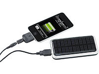 revolt Solar-Powerbank für iPhone, Handy & USB-Geräte (refurbished)