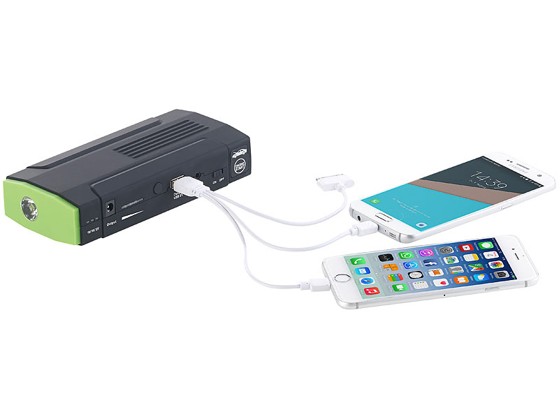 ; USB-Solar-Powerbanks